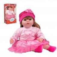 Slovensky mluvící a zpívající dětská panenka PlayTo Tina 46 cm