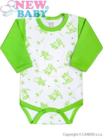 Dojčenské body New Baby Zebrababy II zelené