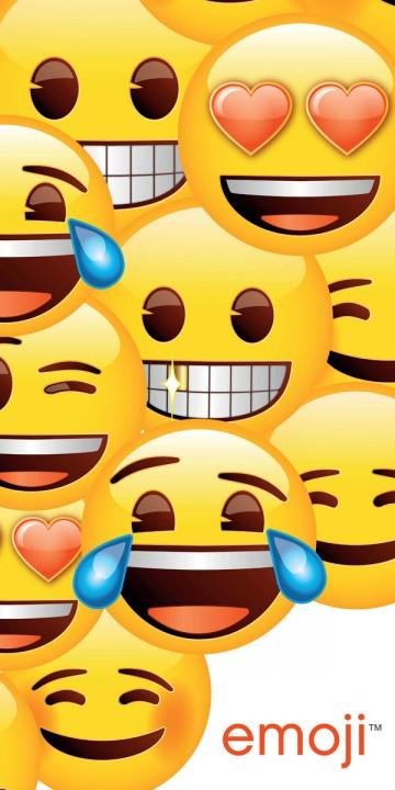 Osuška Smajlíci Emoji 70/140 cm