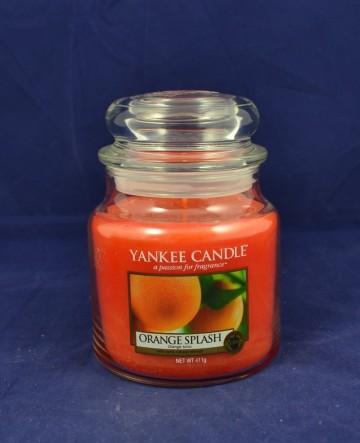 Yankee Candle vonná svíčka střední 411g Orange Splash