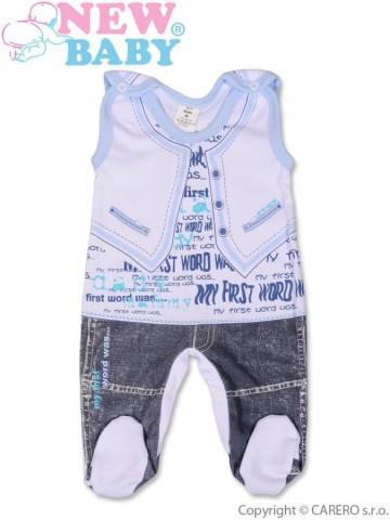 Dojčenské dupačky New Baby Jeans modré