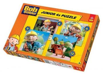 Puzzle Bob a mester 4in1