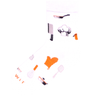 Ponožky - Kuchař - velikost 43-46