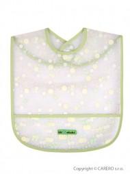 Gyerek előke zsebbel Akuku zöld buborék