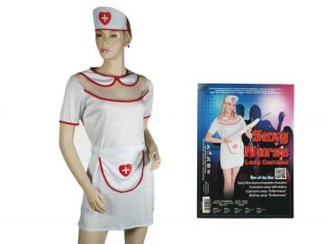 Sexi nővér jelmez