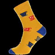 Ponožky - Káva - velikost 43-46