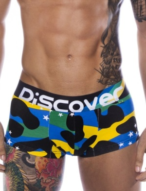 Boxeri Discover Brazil Trunk, 1 perechi, mărimea L