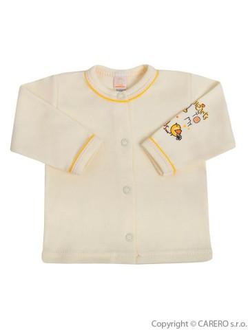 Dojčenský kabátik Bobas Fashion Benjamin béžový
