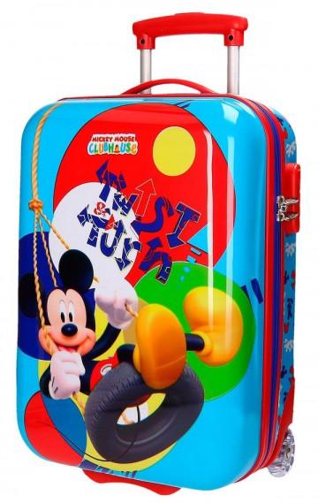 Cestovní kufr ABS Mickey Twist 50 cm