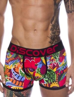 Boxeri din bumbac Discover Pai Pai Boxer, 1 perechi, mărimea L