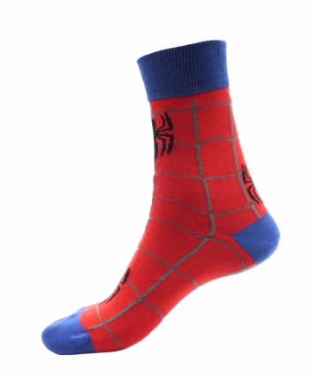 Ponožky - Crazy - Pavouk - velikost 41-46