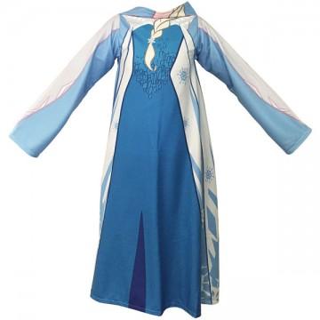 Fleece deka Ledové Království Elsa s rukávy 118/138