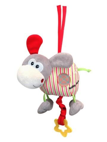 Detská plyšová hračka s hracím strojčekom Baby Mix oslík