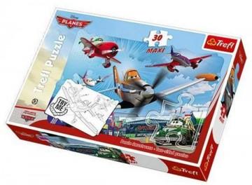 Maxi puzzle Letadla Planes 30 dílků