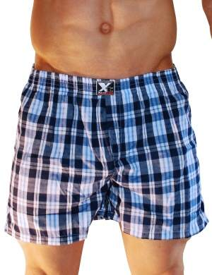 Pánské trenýrky Xtremen Shorts Boxer TH 10, Velikost oblečení S
