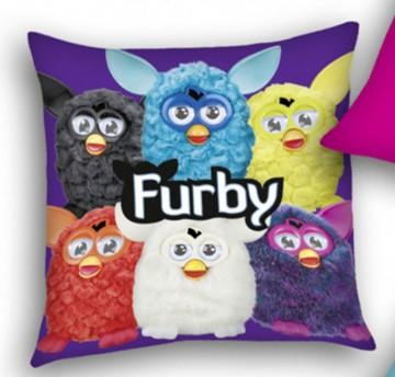 Polštářek Furby fialový 40x40