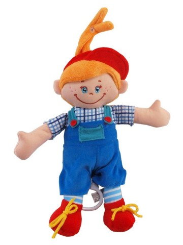 Bábika s hracím strojčekom Baby Mix Chlapček