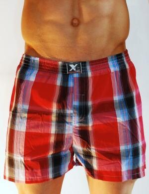 Pánské trenýrky Xtremen Outdoor Shorts Boxer TV 01, Velikost oblečení L