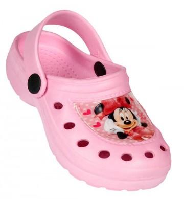 Kroksy Minnie Mouse růžové 30