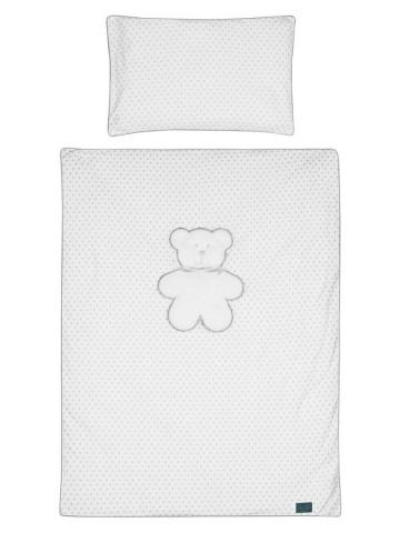 6-dílné ložní povlečení Belisima Bílý medvídek 90/120