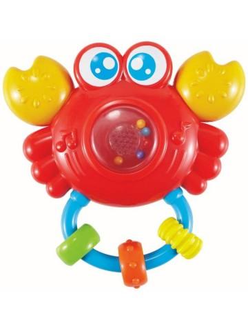 Detské hrkálka so zvukom Baby Mix Krab