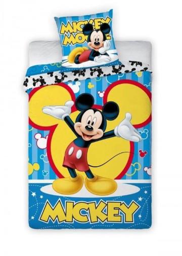 Povlečení Mickey modrý 140/200
