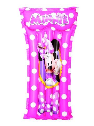 Dětská nafukovací matrace Bestway Minnie - růžová