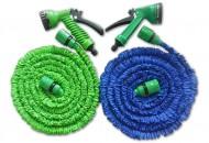 Flexibilní hadice s rozprašovačem 60m - zelená