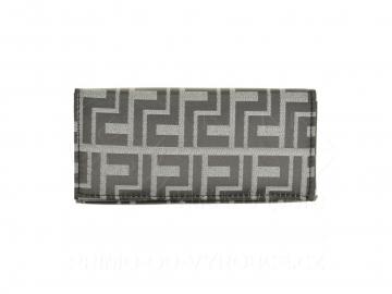 Dámská peněženka vzor bludiště - šedá [6948]