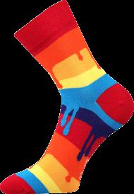 Ponožky Barvy - 1 pár, velikost 43-46
