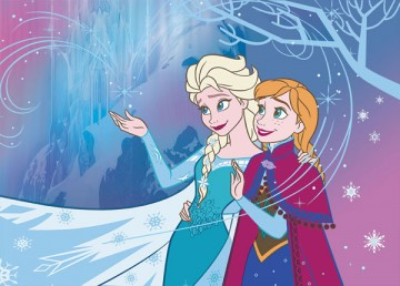 Dětský koberec Ledové Království Let it go 95/133