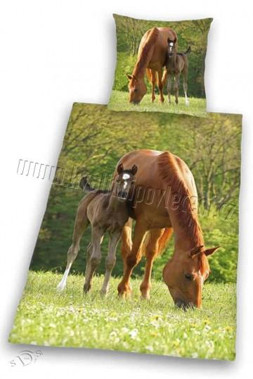 HERDING Povlečení Koně na pastvě 140/200