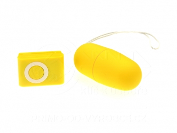 Vibračné vajíčko - Žlté