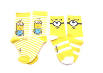Ponožky - Mimoň 1 - velikost 27-30 cena za 2 páry