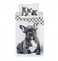 Bavlněné povlečení - Bulldog - 140 x 200 - Jerry Fabrics