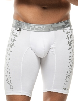 Pánské boxerky Xtremen Sports Boxer Printed White, Velikost oblečení XL