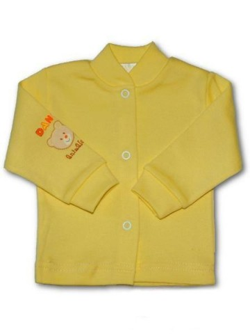 Dojčenský kabátik New Baby žltý