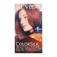 Barva bez amoniaku Colorsilk Revlon - Světlá načervenalá, Nº 55