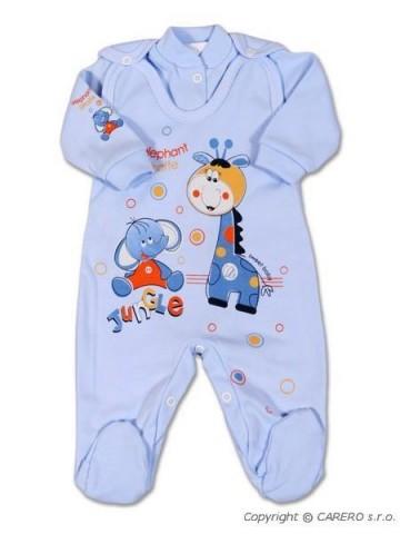 2-dílná souprava New Baby Žirafka modrá