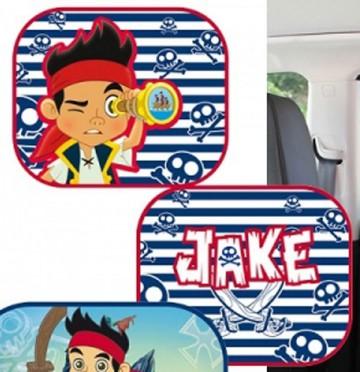 Sluneční clona Jake a piráti ze země nezemě proužky