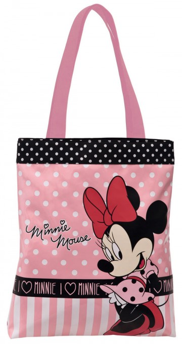 Nákupní taška I love Minnie 38 cm