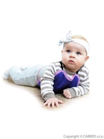Dětská plazička VG malinovo-růžová