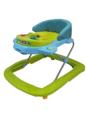 Detské chodítko Baby Mix green-blue