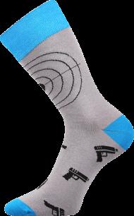 Ponožky Terče - 1 pár, velikost 43-46