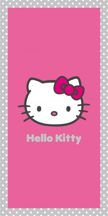 Osuška Hello Kitty Salsa 75/150