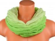 Batikolt körkendő - zöld