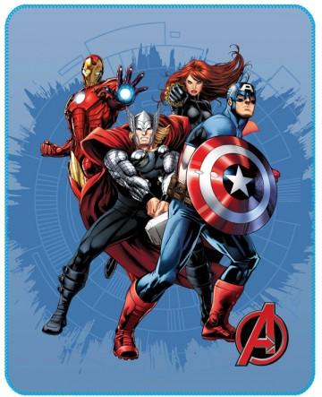 Fleece deka Avengers Challenge 110/140