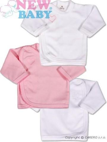 Kojenecká košilka New Baby Classic 3ks