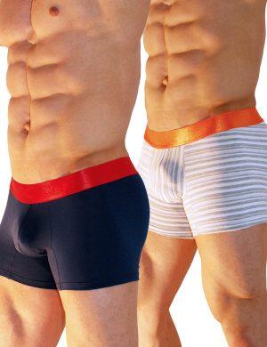 Pánské boxerky Xtremen 2 Pack-Cotton Boxer BH, Velikost oblečení L