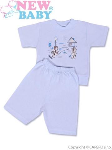 Dětské letní pyžamo New Baby modré